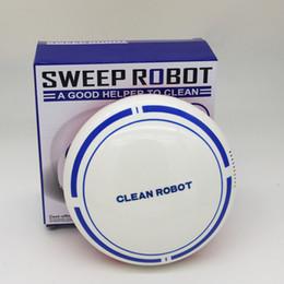 2019 robot de limpieza automática Pequeño Sweep Robot Recargable Inteligente de Dibujos Animados Mini Aspirador Barrena de Inducción Automática Taladros Inalámbricos Herramientas del Hogar 37ql gg rebajas robot de limpieza automática