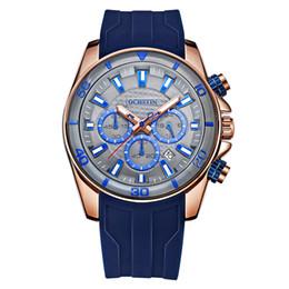 840c1fcf974 OCHSTIN GQ094 Silicone Mens Relógios Top Marca de Luxo Relógio Do Esporte  Dos Homens de Quartzo À Prova D  Água Luminosa Relógio de Pulso Relogio  Musculino