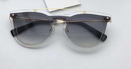 cc204642b85 transparent frame glasses square 2019 - Women VA 4008 Transparent Plastic  Cat-Eye Sunglasses Smoke