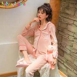 d7b981050 2 piezas Conjunto de ropa de maternidad de otoño y primavera Ropa para  amamantar Tops suaves + Pantalones Tallas grandes Embarazo Ropa de dormir  de ...