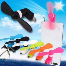 2019 ventilador de enfriamiento 12 Mini Micro Portable USB Fan del teléfono móvil para Android Samsung Teléfono Cooling Fan Novedad Juegos OOA5061 ventilador de enfriamiento 12 baratos