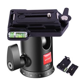 Wholesale quick release plate adapter - Quick Release Plate Adapter Aluminum Alloy QR Plate for Tripod Stabilizer 110*70*19mm