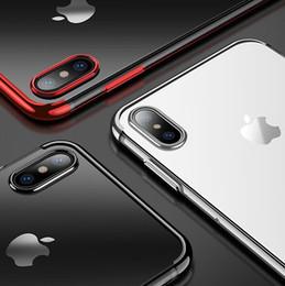 Canada 2018 Date 3 Pièces Placage Souple TPU Couverture pour iPhone X 7 8 Plus 6 s Transparent Cas pour Samsung Galaxy S9 Plus J730 J530 J330 A8 Plus 2018 Offre