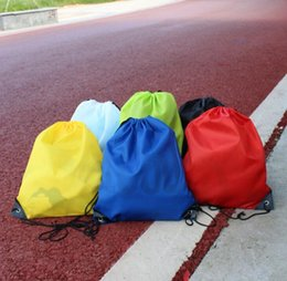Wholesale Girls Clothing Shoes - Dry Bag Children's Clothing Shoes School Drawstring Frozen Sports Fitness PE Dance Backpack Pregnant Women Bag Shopping Bags Diaper Bags