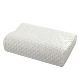 Wholesale Latex Bedding - 2017 New Orthopedic Neck Pillow Fiber Slow Rebound Memory Foam Orthopedic Latex Neck Pillow Bedding Cervical Health Care