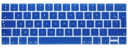 "Wholesale Macbook Pro Skin Case - AZERTY French EU Silicone Keyboard Cover Case Skin For New MacBook Pro 13"" A1706 and Pro 15"" A1707 With Touch Bar Release 2016"