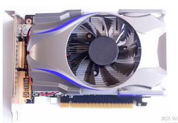 ventilador de refrigeração nvidia Desconto Prata Cool Fan GT730 4G DDR5 placa gráfica do jogo cartão realmente independente para computador desktop PC
