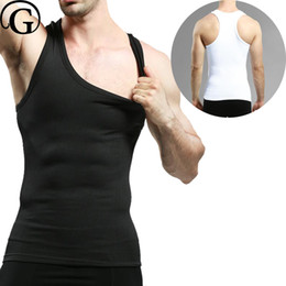 Wholesale Man Boobs - PRAYGER Men gynecomastia Slimming body Shaper compression boobs undershirt shaping tummy trimmer tops