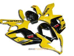 Wholesale Gsxr Black Yellow - New ABS Full Fairings Kit For SUZUKI GSXR1000 K5 05-06 GSXR 1000 GSX R1000 GSX-R1000 K5 05 06 2005 2006 Fairing set black yellow