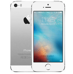 Wholesale unlocked iphone 5s wholesale - Refurbished iphone 5s IOS 11 system Apple iPhone5S Unlocked Mobile Phone Apple A7 4.0inch 16G 32GB 64G Without Finger print
