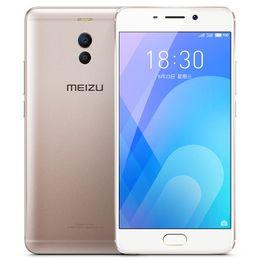 "huawei salire i telefoni dual sim Sconti Originale Meizu M Note 6 4GB RAM 64GB ROM 4G LTE Cellulare Snapdragon 625 Octa Core 5.5 ""16.0MP Fotocamera frontale Flyme 6 Smart Cell Phone"