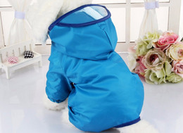 Wholesale Summer Dog Raincoat - Dog Clothes for Dogs Raincoat Waterproof Overalls Goods for Pets Poncho Rain Umbrella Coats for Chihuahua
