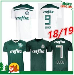 Wholesale men s green shirts - 18 19 Palmeiras SOCCER JERSEY HOME away GREEN DUDO G.JESUS JEAN ALECSANDRO Palmeiras JERSEYS ALLIONE CLEITON XAVIER 2018 2019 SHIRT