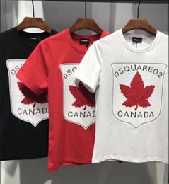 Wholesale Print Borders - Cross-Border Male 2018 ummerEurope Code New8Eagle Pattern Print T-shirt Street 3D Men's European and American Tide Brand Tops