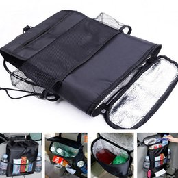Wholesale hanging pockets - Auto Back Car Seat Organizer Holder Multi-Pocket Travel Storage Hanging Bag diaper bag baby kids car seat hanging bag BBA212