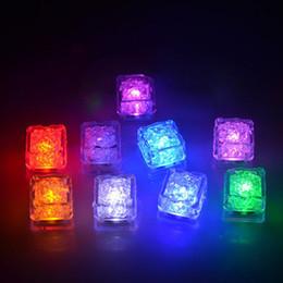 rolos de carpete por atacado Desconto 1200 PCS de Alta Qualidade Flash Ice Cube Água-Ativado Flash Led Luz Coloque em Água Beber Flash Automaticamente para o Partido Barras de Casamento de Natal