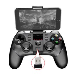 Wholesale receiver game - Ipega 9076 Bluetooth Wireless Gamepad With 2.4G Wireless Bluetooth Receiver Support For Android ios ps3 Game Console Player