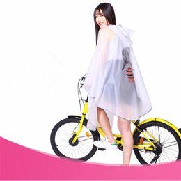 e639515fa90 2018 Fashion EVA Transparent Raincoat women men poncho waterproof