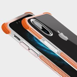 Argentina Nuevo para iphone XS MAX XR X 6S 7 8 PLUS TPU TPE cubierta de la caja del teléfono móvil transparente suave a prueba de golpes diseño delgado cubierta de la caja diseño de lujo Suministro