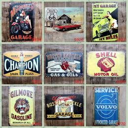 20 * 30 cm Vintage Rétro En Métal Panneau Affiche Champion Route 66 moto voiture Plaque Club Accueil art fer Peinture Pub Bar Garage Mur Décor FFA948 50 PCS ? partir de fabricateur