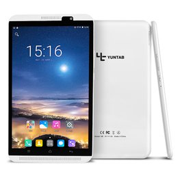 Argentina Yuntab 8 pulgadas H8 Android 6.0 Tablet PC Alta resolución 800 * 1280 Quad-Core 1.3ghz 4G teléfono móvil con cámara doble 4500mAh batería Suministro