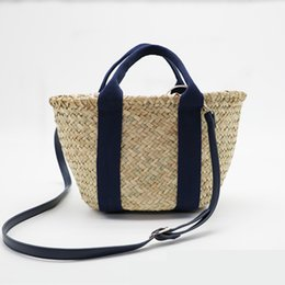 50e6acc861 China Hand Straw Bags Brand Designer Rattan Bag Beach Bag Women Bohemian  Bali Handbag Summer Handmade