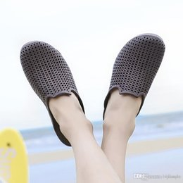 88e16a2eb0b designer sandals Special SALES blue black Brown mens Beach Summer Slippers  Flip Flops Couple slippers outdoor beach flip flops size 39-46