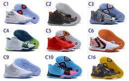 Wholesale Patent Professional - Hot explosion models Nik Kyrie 3 EP basketball shoes professional basketball game unique design fashion outdoor high-quality sports shoes