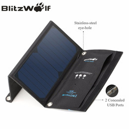 2019 al por mayor ipad cargadores de aire venta al por mayor cargador solar portátil plegable del panel de la célula de SunPower del USB 15W 2A con Power3S para el iPhone X 8 más 7 6s para el aire del iPad rebajas al por mayor ipad cargadores de aire