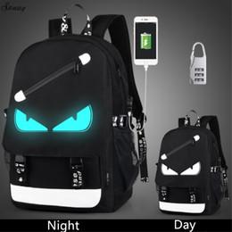 sac à bandoulière en métal argenté Promotion Sac à dos anti-vol USB chargeant les sacs à dos pour hommes pour ordinateur portable pour les adolescents Sac à dos de voyage femme Sacs d'école Lumineux
