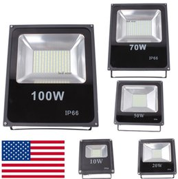 Wholesale Led Light Flood - Stock In USA + Led Floodlights 10W 20W 30W 50W 100W 150W Outdoor Flood Lights Landscape lighting AC 110-240V CE UL FCC