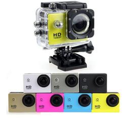 скрытые камеры записи Скидка Самый дешевый SJ4000 1080P Full HD Действие Цифровая спортивная камера 2-дюймовый экран под водонепроницаемый 30M DV Запись Мини Sking Велосипед Фото Видео