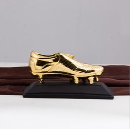 Wholesale Wholesale Awards - Golden Boots Cup World Cup Football Boots Champions League Award Trophies Cup Soccer Clubs Fans Souvenirs Cheerleading Gifts OOA5161