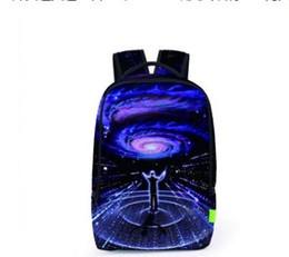Borse a tracolla libere online-Borse a tracolla moda Viaggi Zaino Sport all'aria aperta Designer casual Brand 3D School Bags Drop Ship Free Ship
