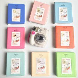 Fotos polaroidas on-line-64 bolsos Polaroid64 bolsos Polaroid Photo Album Mini instantânea Picture Case de armazenamento para Fujifilm Instax Mini Film