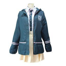 Danganronpa Trigger Happy Havoc Chiaki Nanamil Dress Uniform Cosplay Costume