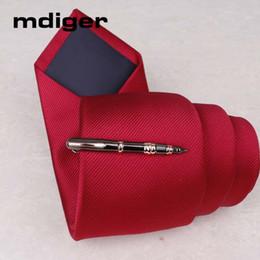Wholesale Mens High Bar - Mdiger Brand Mens Necktie Clip Copper Formal Wear Business Necktie Tie Clips Bar Brand Tie Clip Clasp Metal High Quality Clip