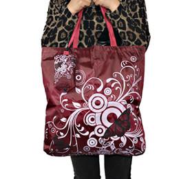 Бабочка площади карманные сумки большой путешествия продуктовый Эко-складная ручка многоразовые портативный плечо полиэстер сумка cheap eco friendly square bags от Поставщики эко-квадратные сумки
