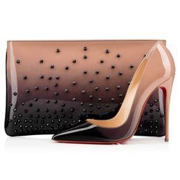 Wholesale box party bags - women's Red bottom high heels shoes women pumps BRAND +BOX BAG CHRISTIANLIED&LOUBOUTINLIED&HEELS SHOES High heels shoes