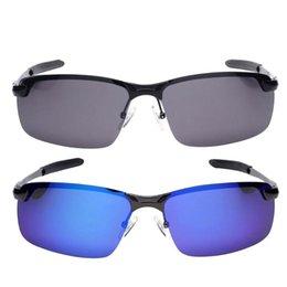 2019 поляризованные летательные аппараты Men Metal Driving Glasses Polarized Sunglasses Sports  Mirrored Lens дешево поляризованные летательные аппараты