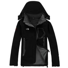 Heiße männliche Norddenali Apex bionische Jacken im Freien beiläufige SoftShell warmer wasserdichter winddichter Breathable Ski Face Coat 107 von Fabrikanten
