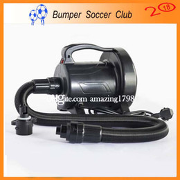 Football nautique en Ligne-Livraison gratuite 1200W Ventilateur électrique de pompe à air pour Bubble Soccer, Bumper Ball, Football à bulles, Ballon d'eau, Zorbing Ball