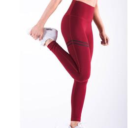 4cb31a35b7390 Sport Pants for Women Fitness High Waist Elastic Leggings Womens Sport Wear Yoga  Pant Jogging Femme Workout Leggins Gym Pants