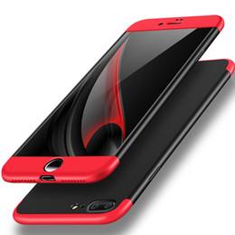 Capa de telefone 3in1 on-line-Para iphone x 5 5s se 6 6 s 7 8 plus 360 armadura protetora 3in1 tampa do PC rígido para samsung s9 s8 plus nota 8 s7 casos de telefone de borda