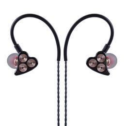 Отмена кабеля онлайн-Boollo BOT1 3DD динамический драйвер в ухо Наушники Hifi Спорт шумоподавления гарнитура с микрофоном замена кабеля