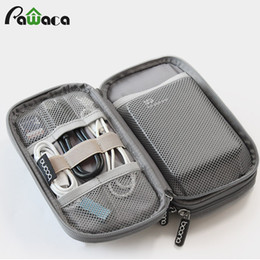 Wholesale usb door - Travel Gadget Organizer Bag Portable Digital Cable Bag Electronics Accessories Storage Carrying Case Pouch For Usb Power Bank