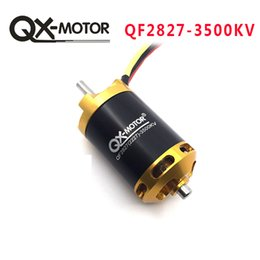 QX-MOTOR A Estrenar QF2827 3500KV Motor Sin Escobillas para RC Racing Boats Modelo DIY Boats Motor Parts desde fabricantes