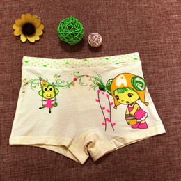 Wholesale Boxer Children - Pure cotton modal children's underwear girl child boxer shorts girl corners of cuhk children's cotton