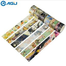Nastri adesivi online-AAGU 1PC 20mm * 5m Carino Holy Potter Wide Washi Tape 21 Patterns Nastro adesivo decorativo selettivo Forniture per ufficio Nastro adesivo fai da te 2016