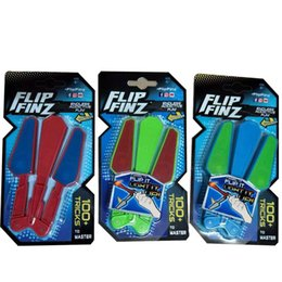 Flip Finz Fidget Plastic Spinner Décompresseur Jouet Twirl LED Light It Up sans fin Addictive Fun jouets assortis 12xc W ? partir de fabricateur
